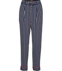 hoku pant casual broek blauw tommy hilfiger