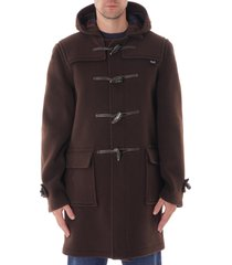 gloverall morris duffle coat - brown mc3512ct-brn morris
