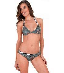 bikini multicolor sally mare moda