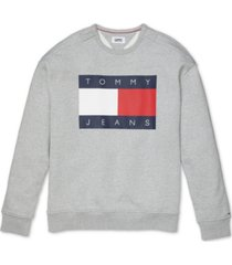 tommy hilfiger adaptive men's tommy jeans lucca sweatshirt