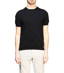 paolo pecora t-shirt paolo pecora short-sleeved basic cotton sweater