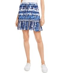 be bop juniors' ruffle-hem mini skirt