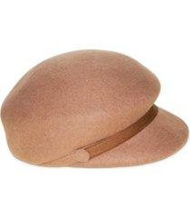 nine west wool felt newsboy hat