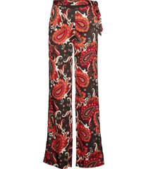 paisley fantasy soft pant wijde broek rood marciano by guess