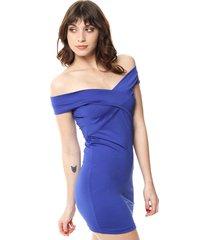 vestido azul felisa olivia