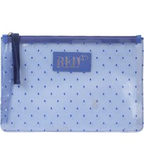 red valentino transparent pouch