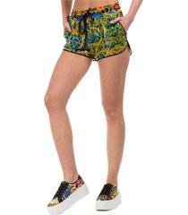 pantaloncini corti shorts donna bermuda leo chain