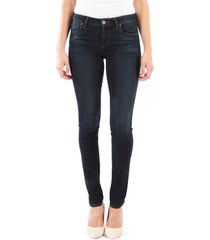 women's kut from the kloth diana skinny jeans, size 18 - blue
