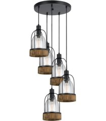 cal lighting 5-light beacon pendant