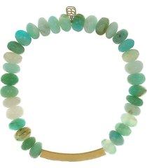 good luck peru opal bead bracelet