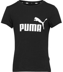 ess logo tee g t-shirts short-sleeved svart puma