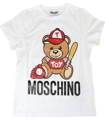 moschino baseball bear t-shirt