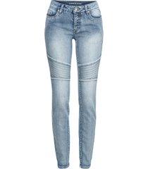 jeans in stile biker (blu) - rainbow