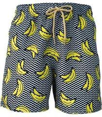 short tactel banana praiar masculino