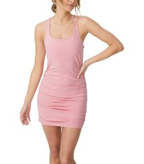 women's day to night bodycon ruched mini dress