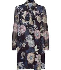 shirley dress knälång klänning blå ida sjöstedt