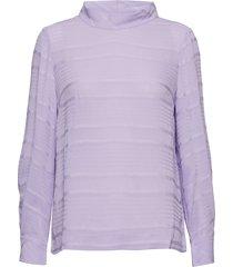 noelle blouse blus långärmad lila inwear