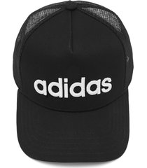 boné adidas performance curved trucker preto
