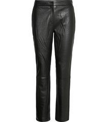 2nd avon leather leggings/broek zwart 2ndday