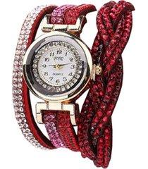 reloj rojo re-43010