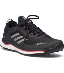 terrex agravic flow gore-tex trail running shoes sport shoes running shoes svart adidas performance