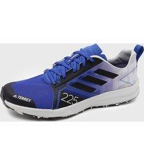 zapatilla de trail running terrex speed flow multicolor adidas outdoor