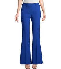 anna crepe flared pants