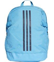 maleta adidas clasica tres rayas du1995 - azul