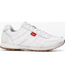 sneaker in pelle (bianco) - bpc bonprix collection