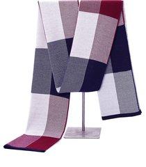 l'inverno di autunno degli uomini 180cm ispira le sciarpe calde sciarpa di lavoro a maglia del plaid di viaggio casuale