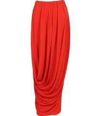 marni marni draped maxi skirt