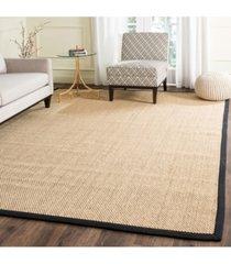 safavieh natural fiber maize and black 9' x 12' sisal weave area rug