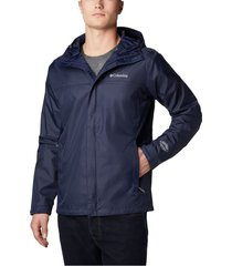 chaqueta azul oscuro columbia watertight