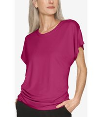 b new york ruched-side top