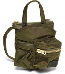 x porter yoshida & co. zip pocket nylon small crossbody bag