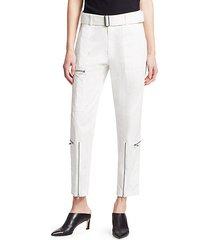 straight-leg utility flight pants