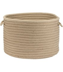 colonial mills boat house braided storage basket