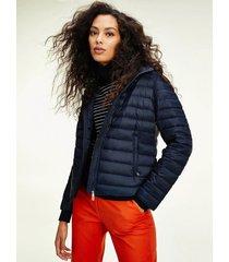 chaqueta de plumas essential plegable azul tommy hilfiger