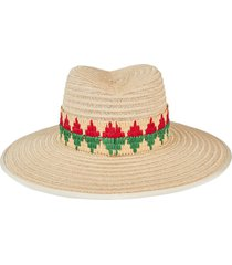 cindy multicolored straw hat