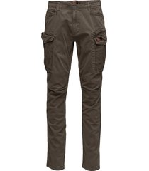 core cargo lite parachute pant casual broek vrijetijdsbroek groen superdry