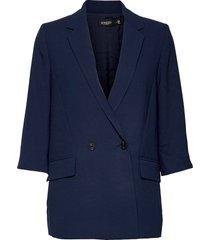 slshirley 2nd blazer blazers over d blazers blå soaked in luxury