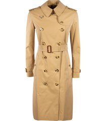 burberry mid-length high belt double-breasted trench