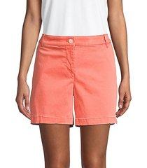 boracay cotton blend shorts