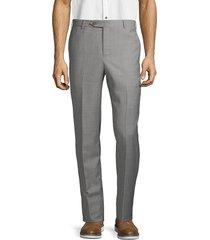 zanella men's wool trousers - navy - size 36