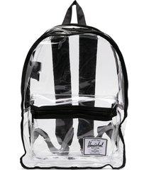 herschel supply co. clear multi-pocket backpack - neutrals