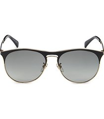 58mm clubmaster sunglasses