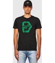 polera t diegos n23 t shirt 9xx negro diesel