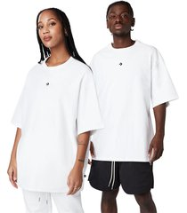 converse camiseta crossover white