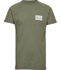 halo cotton raglan tee t-shirts short-sleeved grön halo