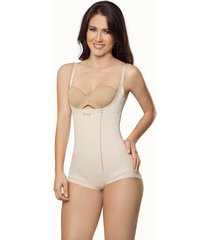 fajas mujer body panty largo sparta 12023 - beige